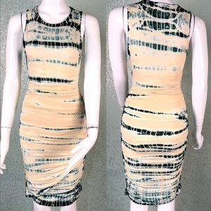 Gypsy 05 Shirred Mini Bamboo Dress